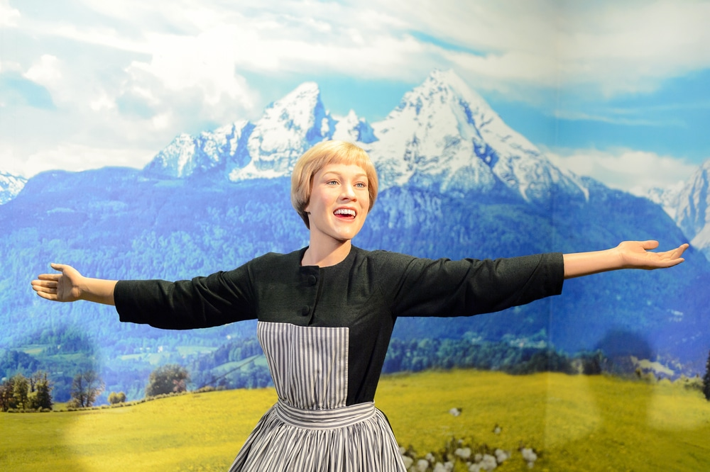 The sound of music feel-good movie