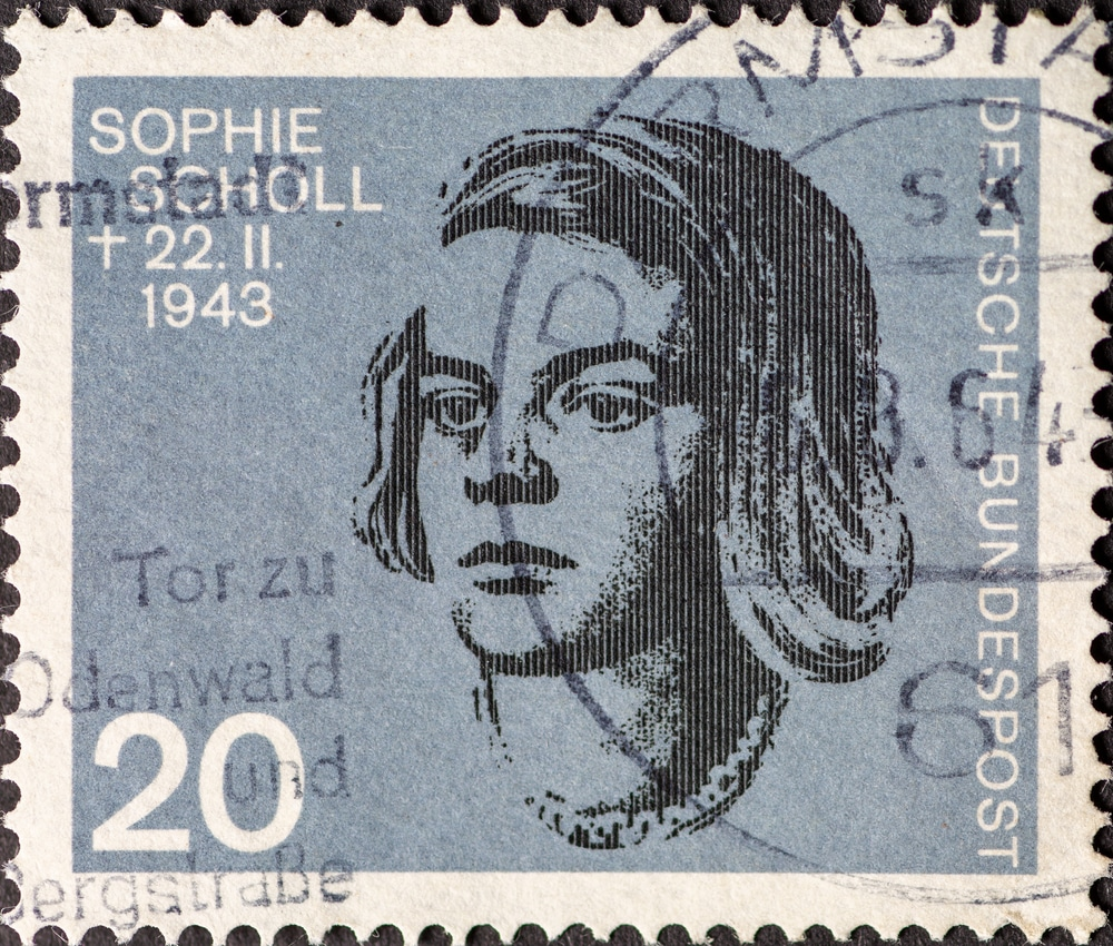 sophie scholl role model to young girls